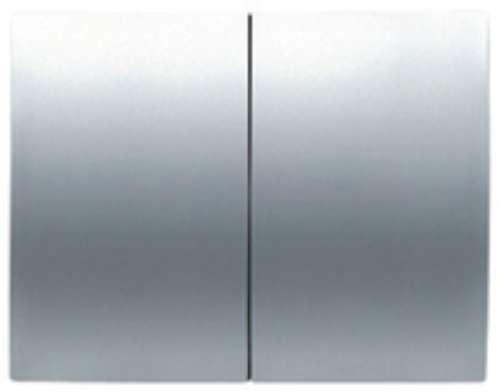 Niessen - 8411tt tecla doble interruptor-conmut olas titanio Ref. 6520535321