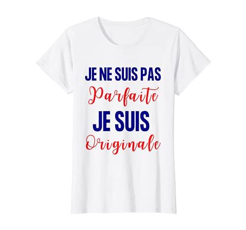 Femme Femme humoristique-Cadeau humour Je suis originale unique T-Shirt