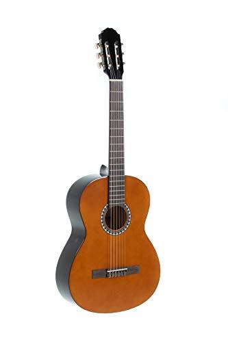 GEWApure Konzertgitarre BASIC SET 4/4 walnussfarbig, mit Tasche, ClipTuner und 2 Plektren