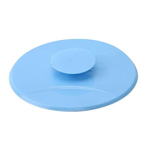 Huien keuken rubberen bad wastafel gootsteen afvoerplug keuken was water stop gereedschap Wastafel bad accessoires, blauw