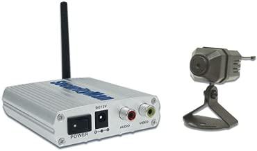 SecurityMan D.I.Y Mini 2.4GHz Wireless Color Camera Kit with Audio (MINIAIRWATCH)
