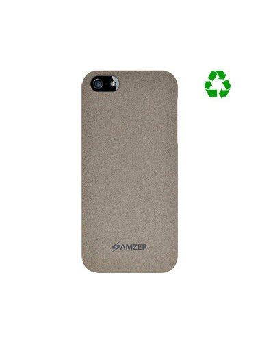 Amzer AMZ94808 Organic Shell Snap on Slim Fit Case Cover for Apple iPhone 5, iPhone 5S, iPhone SE (Fits All Carriers) - Sand