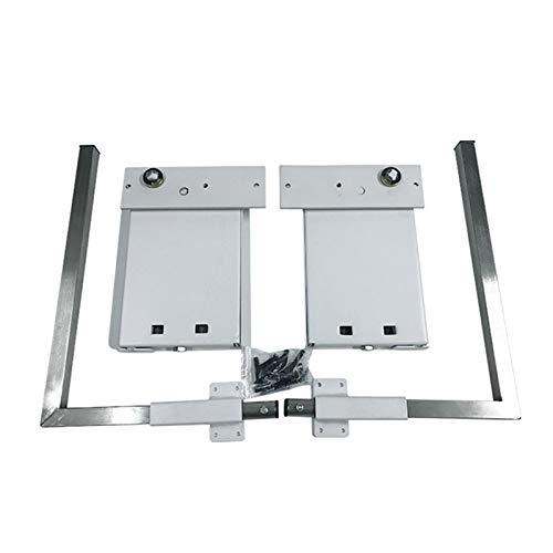 NECZXW1 DIY Kit de Hardware de Mecanismo de Resorte para Cama de Pared Murphy, instalación de Cama de Pared Vertical, 5 resortes domésticos, Loft, Hotel Moderno, etc, Blanco