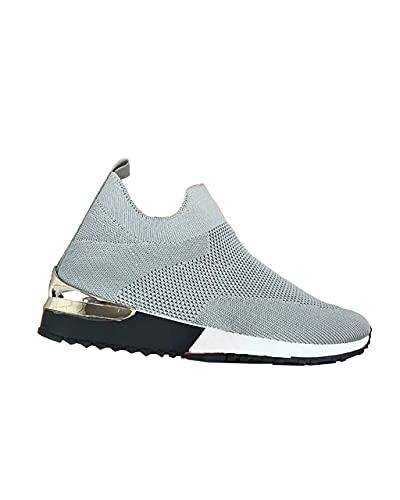 Zapatillas Deportivas Caminar para Mujer Slip on Calzado de Deporte Zapatos de Correr Running Sneakers Ligeras Zapato