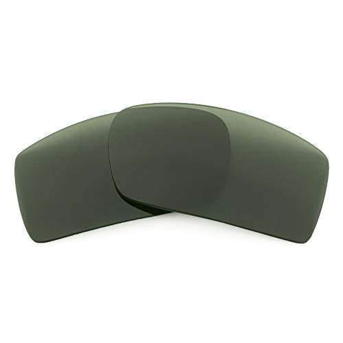 Revant Lentes de Repuesto Compatibles con Gafas de Sol Arnette Hot Shot AN4182, Polarizados, Gris Verde