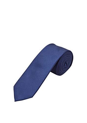 s.Oliver Herren 02.899.91.6200 Krawatte, Blue, One Size (Herstellergröße: 1)