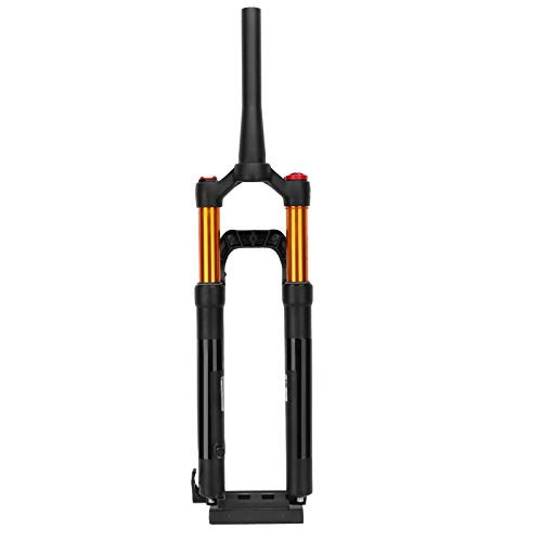 LIKJ Horquilla Delantera de Bicicleta de montaña, Horquilla Delantera de aleación de Aluminio/magnesio Ultraligera para Bicicletas de 27,5 Pulgadas para reparación