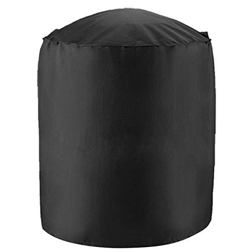 Ftory Cubierta a Prueba de Polvo: Tela Oxford para Exteriores, Impermeable, a Prueba de Polvo, Cubierta Circular para Horno de Barbacoa, Protector de Parrilla para Barbacoa(75x70cm(210D))