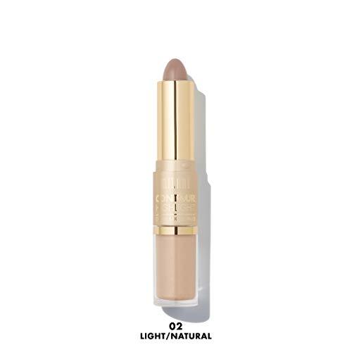 MILANI Contour & Highlight Cream & Liquid Duo - Light/Natural