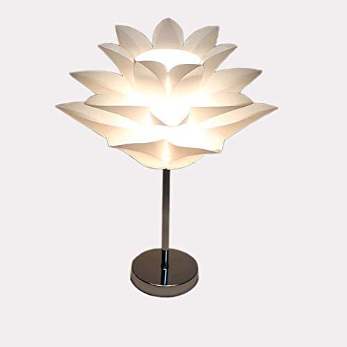 Lámpara De Mesa Pequeña Lotus HGFFG, Lámpara De Mesa Simple Romántica, Lámpara De Protección Ocular Led, Adecuada Para Dormitorio, Sala De Estar, Sala De Estudio
