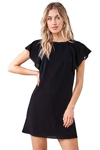 Sugar Lips Damen Ardin Bat Wing Shift Dress Lssiges Business-Kleid, schwarz, Klein