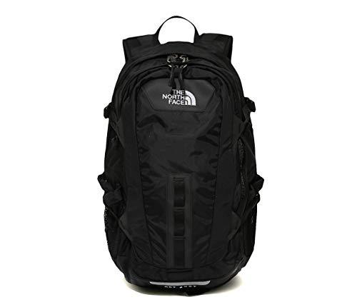 (ノースフェイス) THE NORTH FACE ホットショットカジュアルバックパックデーバックパックのラップトップバッグ 旅行バッグクラッチバッグ男女バッグ ショルダーバッグミニバッグ (ONE, BLACK) [並行輸入品]