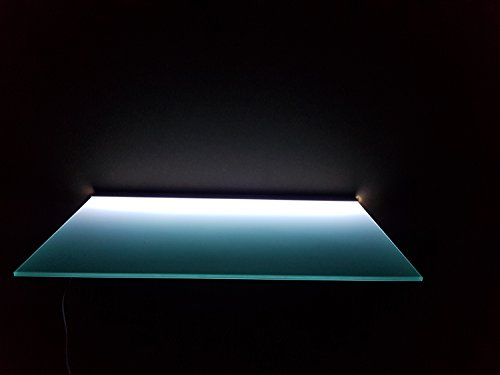 picturehangingdirect.co.uk LED-Lichtregal mit Driver beleuchtet für Geschäfte, Bar, Küche, DVD-Player, Sky Box, Glasregal - 30 X 100 cm