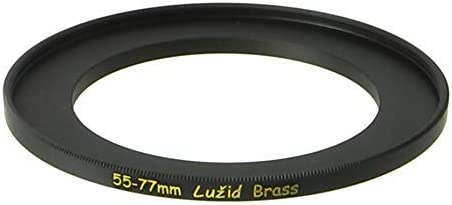LUŽID Brass 55mm to 77mm Step Up Lu 55 Overseas parallel import regular item Adapter Ring online shop 77 Filter