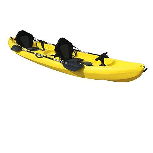 Cambridge Kayaks ES, Sun Fish TÁNDEM SÓLO 2 + 1,Amarillo, RIGIDO