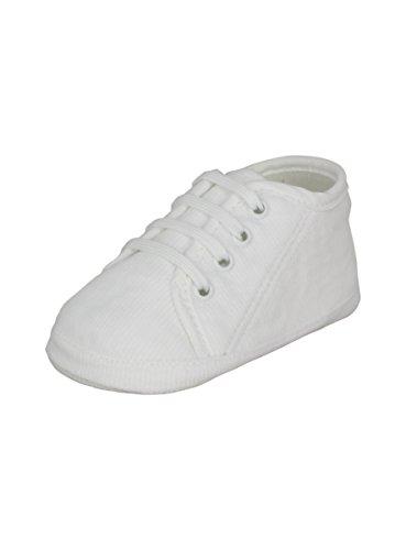 boutique-magique Zapatillas de Bautizo Blanco bebé niño Invierno–Producto stocké y expédié cortaúñas Desde la France