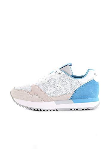 Sun 68 Sneakers Donna Modello Kelly Paillettes Z31214 (Bianco Panna, Numeric_36)