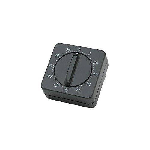 SIBEL Hairdressers mechanical timer - Black by Sibel