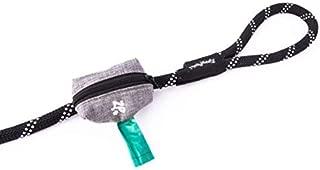 ZippyPaws - Adventure Leash Bag, Dog Poop Pick-Up Bag Holder - Graphite