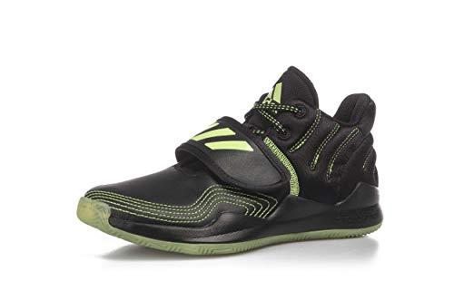 adidas Deep Threat J, Zapatillas Unisex Adulto, NEGBÁS/VERSEN/NEGBÁS, 39 1/3 EU