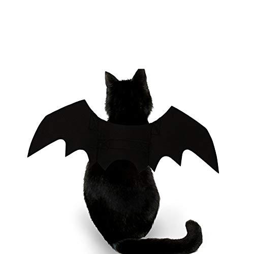 Kalaokei Make-up-Kostüm für Hunde, Welpen, Katzen, Halloween, Schwarz