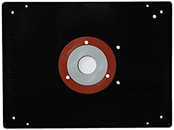 Rousseau 3509 9-Inch x 12-Inch x 3/8-Inch Deluxe Router Base Plate