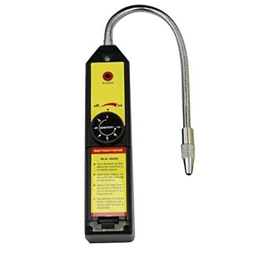 Astyer Detector de fugas de freón halógeno refrigerante A/C R134 R410a R22 Aire Gas Herramienta HVAC con luz indicadora