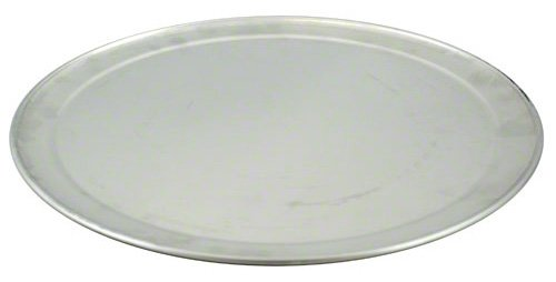 Kitchen Supply bandejas planas para pizza, Plateado, 33.02 cm (13 pulgadas)