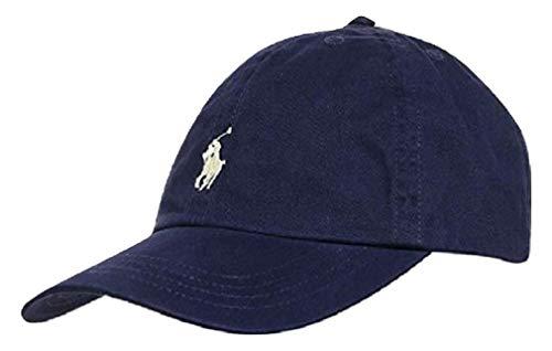 Ralph Lauren Basecap Sport Cap Baumwolle One Size (Dunkelblau)