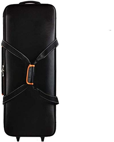 Fomito® FB-06 キャスター付長物キットケース 撮影機材収納ケース ロケバック ライトスタンド収納ケース -——付属品:Fomitoオリジナル クリーニングクロースとグレーカード