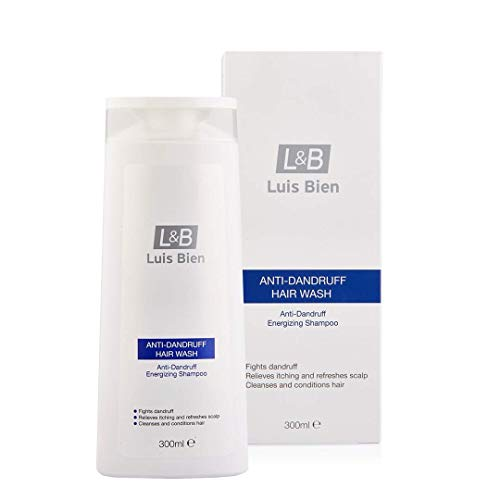 Luis Bien Anti Roos Shampoo, Roos Behandeling Scalp Zorg Voor Mannen En Vrouwen 300 ML