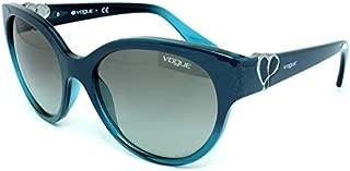 Vogue VO5035S-238111 Green Shaded Cat-Eye Women Sunglasses