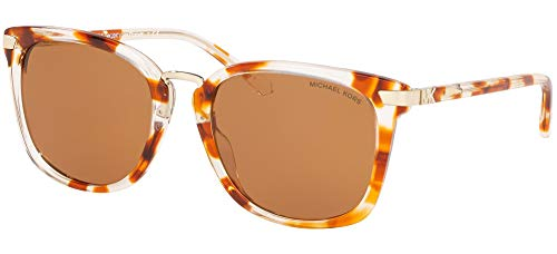 Michael Kors Damen 0MK2097 Sonnenbrille, Db126.18 New Crysal - Torta, 54