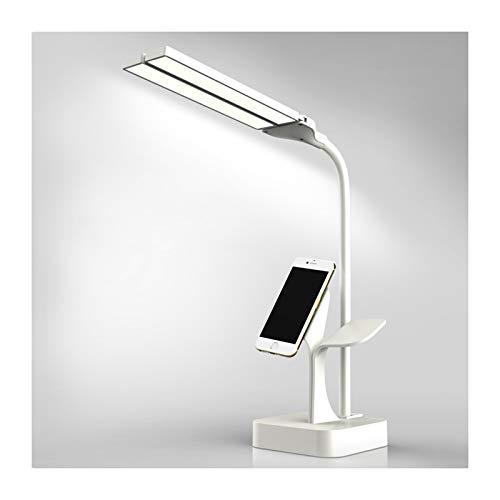 ZRN Luces de Mesa LED Plegables Creativas con Puerto de Carga USB, 3 Modos de iluminación con atenuación Continua de Control táctil