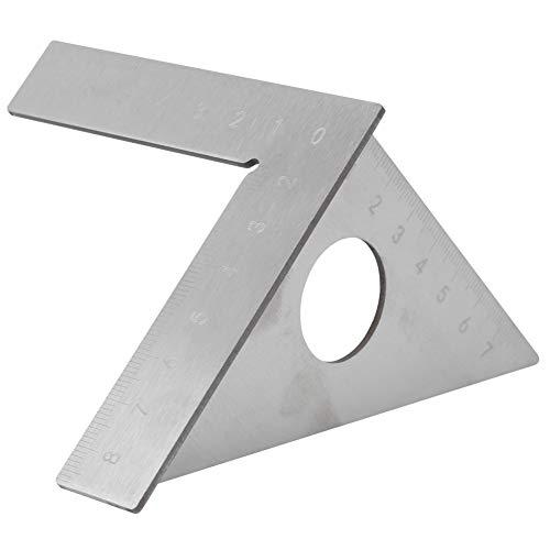 Carpintero cuadrado, regla de ángulo recto, potente carpintería calibre de ángulo recto claramente visible para carpintería