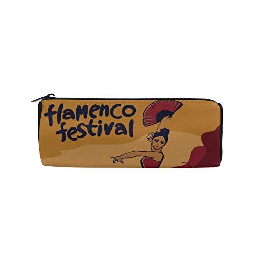 Bolsas de lápices para niños Bailarín de flamenco español Estuche para lápices Estuche para lápices Bolsas de regalo para lápices Bolsa Estuche para lápices Estuche para escuela/oficina