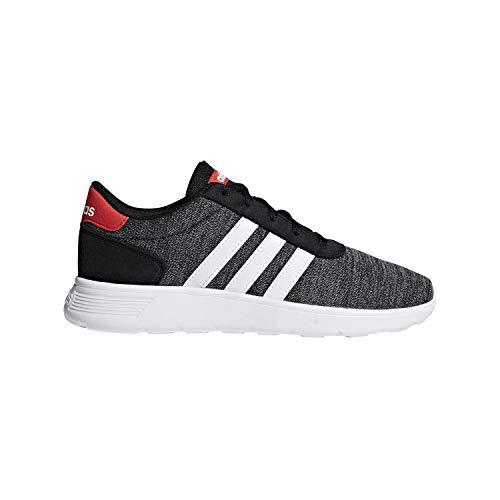 adidas Lite Racer K Black/White/Red Running Shoes 7