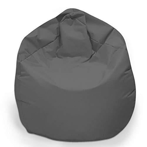 Sitzbag Sitzsack XL Füllung Farbe Anthrazit BeanBag Sitzkissen Bodenkissen Kissen Sessel