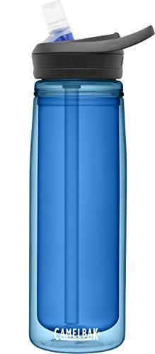 CamelBak eddy+ Water Bottle with Tritan Renew – Straw Top Insulated 20oz, Ocean