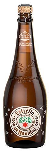 Estrella Galicia Edición Navidad Cerveza - Paquete de 6 x 75 cl - Total: 450 cl