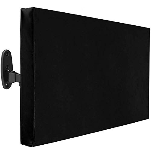 PrimeMatik - Coperchio di Protezione per Esterno per Monitor Schermo TV LCD da 22-24  61x48x13 cm