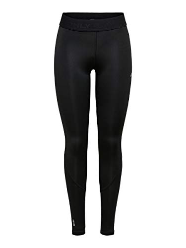 Only Onpgill Training Tights-Opus Mallas de Entrenamiento, Negro (Black Black), 42 (Talla del Fabricante: Large) para Mujer