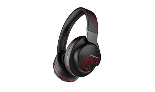 Active Noise Cancelling Kopfhörer, PowerLocus Bluetooth Over-Ear Kopfhörer mit Geräuschunterdrückung, Kabellose Kopfhörer, Hi-Fi Tiefe Bässe,70Std Spielzeit,Faltbar mit Mikrofon für Handys/Laptops/PC