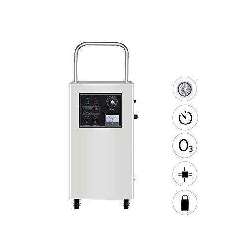 WHYTT AC 220V / 50HZ Generador de ozono Comercial Purificador de Aire para Habitaciones, hoteles, Autos, Mascotas, Humo y Granjas, con Temporizador Concentración de ozono 15-20 (MG/L)