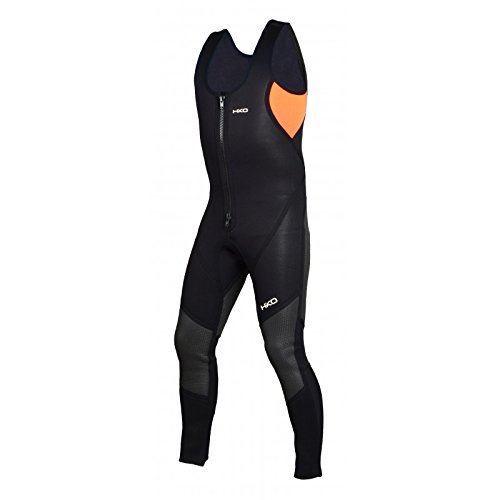Hiko Smiler Long John Kajak Neoprenanzug Outdoorbekleidung Neopren, Farbe:Orange, Größe:56