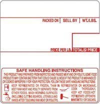 CAS 8040 All Red Printing Scale 12 Made in Rolls USA Max Max 74% OFF 52% OFF Label