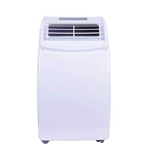 12000BTU Mobile Portable Air Conditioner - Cooling/Heating Electric AC Unit for Garage, Commercial, Large Room