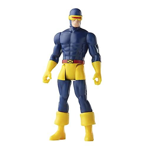 Hasbro Marvel Figura de acción de Cíclope de Marvel de 9,5cm de Retro 375 Collection Legends