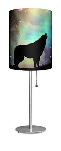 Lampables Animal Kingdom Collection Decoration Gift (Wolf) - Table Desk Lamp