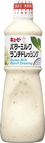 『キユーピー バターミルクランチドレッシング 1L (業務用)』のトップ画像